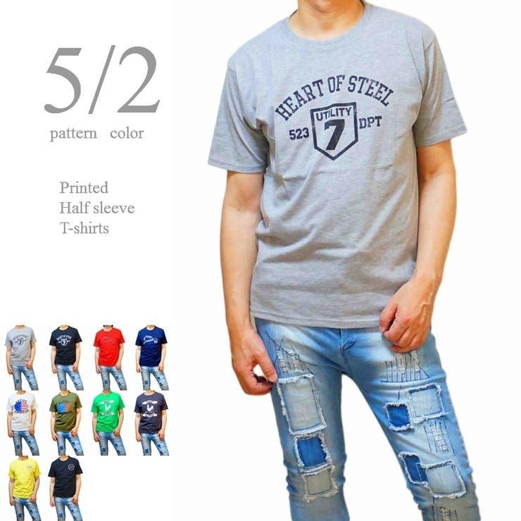 Tシャツ メンズ 半袖 プリント クルーネック 丸首  | WEB COMPLETE | 詳細画像1