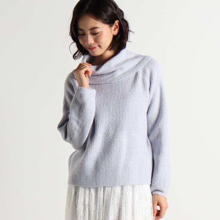 オフタートルセーター