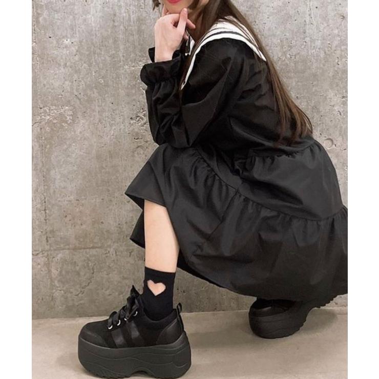 リボン厚底スニーカー | WEGO【WOMEN】 | 詳細画像1