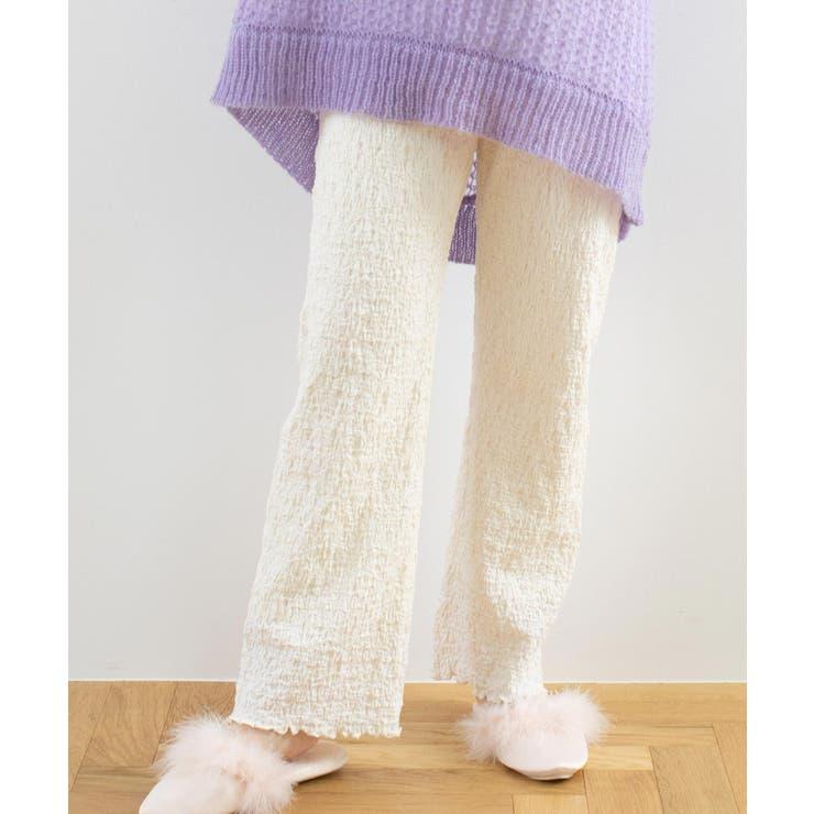 【REVEYU/レブユー】Fluffy mellow room pants | WEGO【WOMEN】 | 詳細画像1