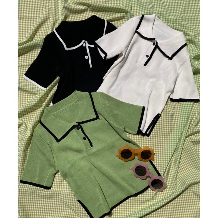 WEGO【WOMEN】のトップス/ポロシャツ   詳細画像