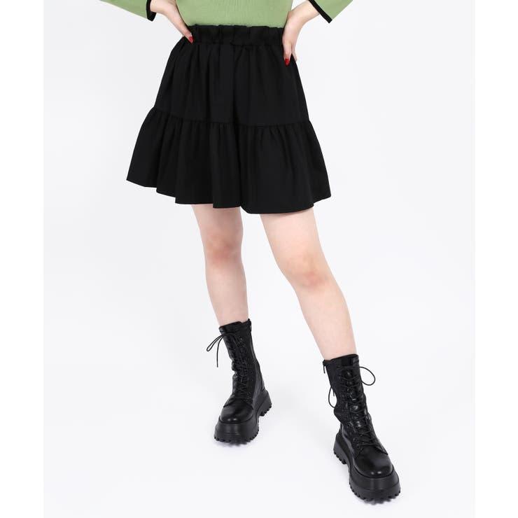 【WC】ティアードミニスカート | WEGO【WOMEN】 | 詳細画像1