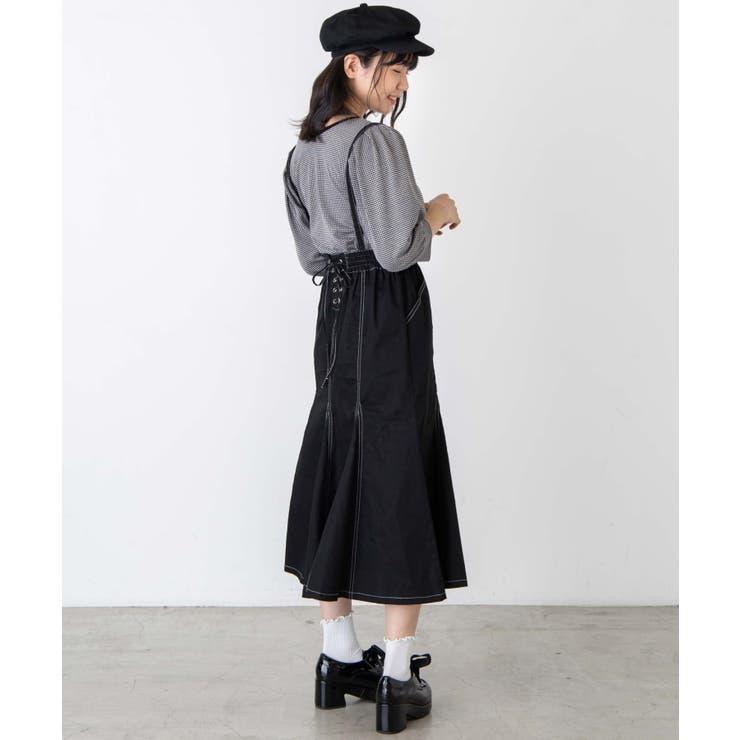 サス付きレースアップスカート | WEGO【WOMEN】 | 詳細画像1