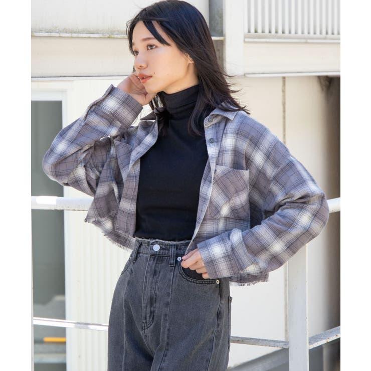 フリンジショートネルシャツ   WEGO【WOMEN】   詳細画像1
