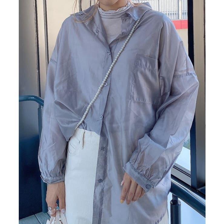シアーボリュームスリーブシャツ | WEGO【WOMEN】 | 詳細画像1
