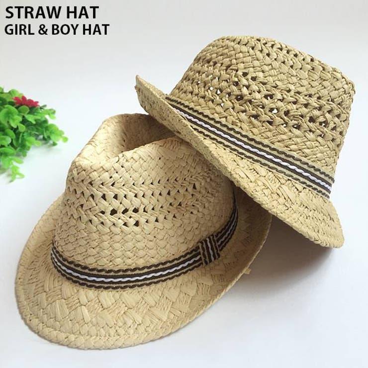 CLARAHの帽子/麦わら帽子・ストローハット・カンカン帽   詳細画像