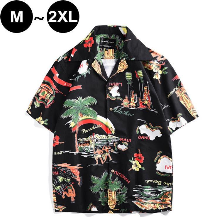 メンズ アロハシャツ 半袖 | CLARAH【MEN】 | 詳細画像1
