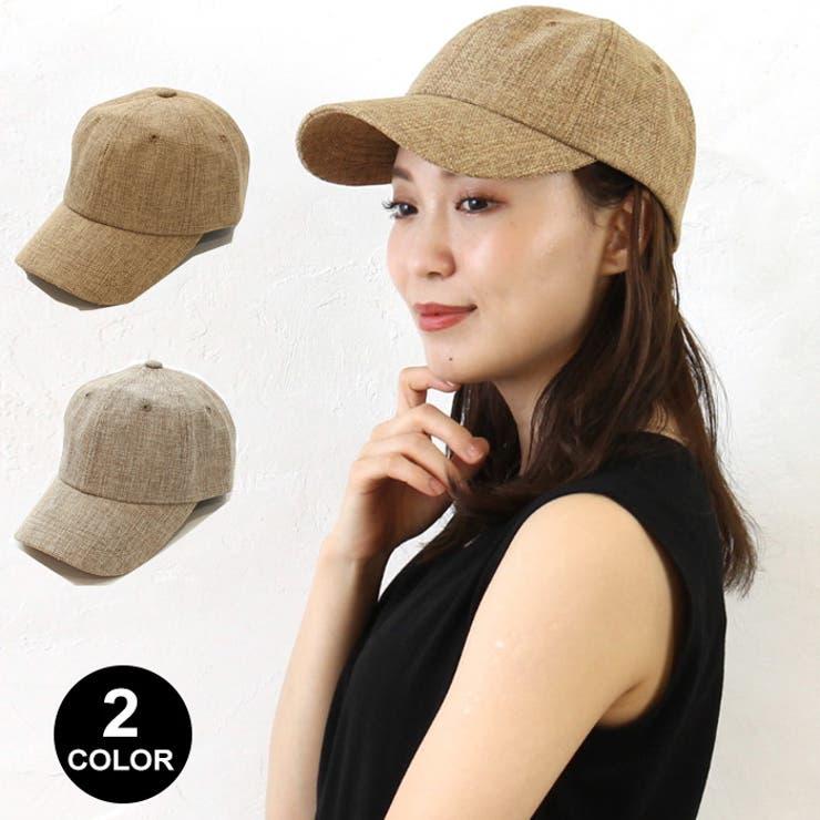 レディース キャップ 帽子   CLARAH【WOMEN】   詳細画像1