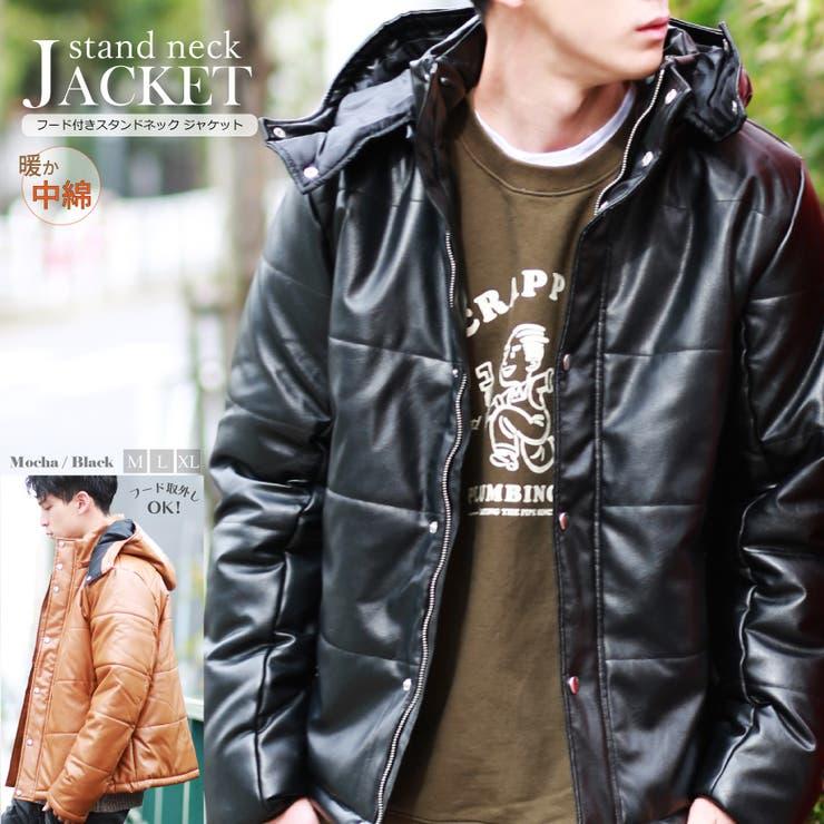 中綿 ジャケット フード付き 保温性 防寒性 フード取外し メンズ | WESTSEA | 詳細画像1
