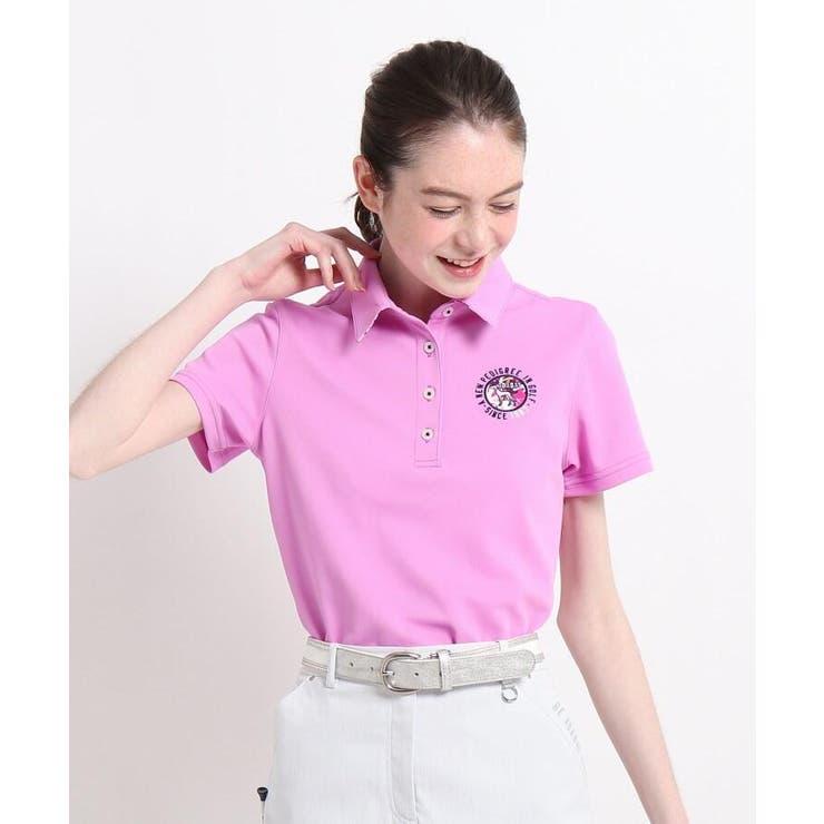 【吸水速乾/UVカット】襟裏デザイン半袖ポロシャツ | adabat | 詳細画像1