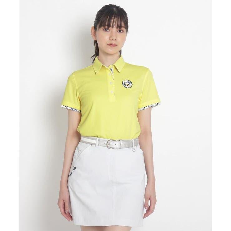 【coolmax(R)(クールマックス)】襟裏デザイン半袖ポロシャツ | adabat | 詳細画像1