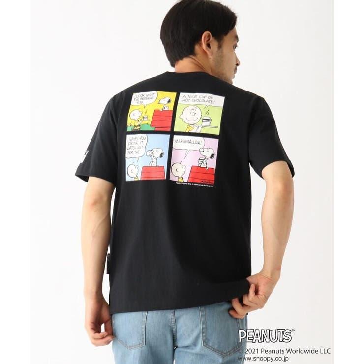 PEANUTS/ピーナッツ アウトドアグラフィックバリエーション 半袖Tシャツ | BASE STATION | 詳細画像1