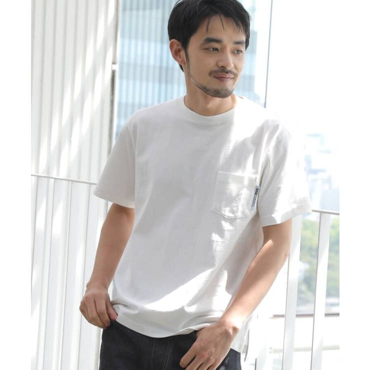 【WEB限定】半袖 ヘビーウェイトポケットTシャツ クルーネック | BASE STATION | 詳細画像1