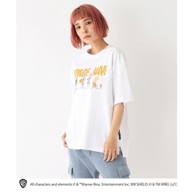 スペースジャム/ 新作映画グラフィック 別注コットン半袖Tシャツ | BASE STATION | 詳細画像1