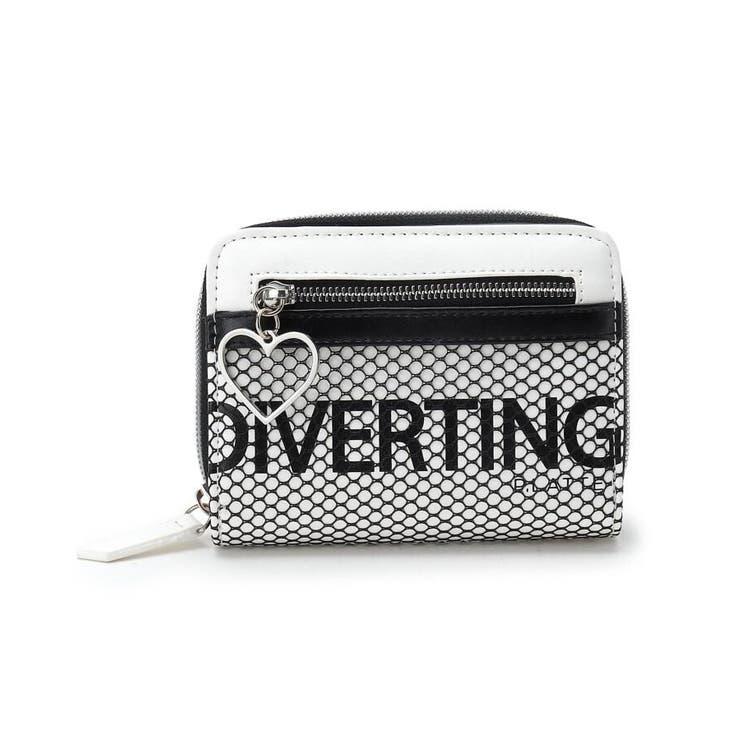 メッシュポケ二つ折り財布 | PINK-latte | 詳細画像1