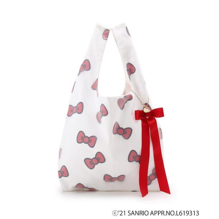 【新色追加】Hello Kitty オーガンジーショッパーバッグ2   Couture brooch   詳細画像1