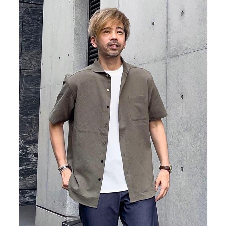 シアサッカーシャツ   THE SHOP TK   詳細画像1