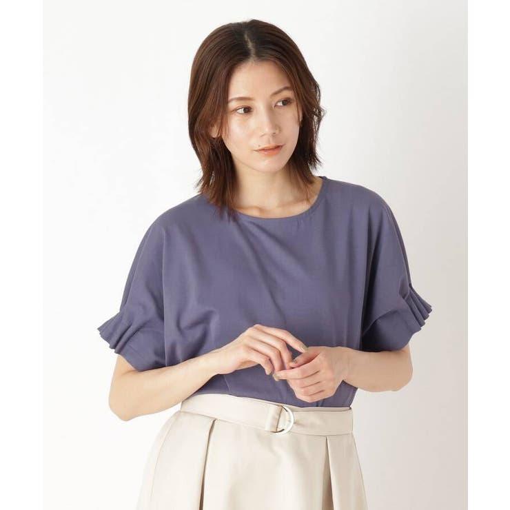 ひんやりゴムタックドルマンTシャツ | SHOO・LA・RUE | 詳細画像1