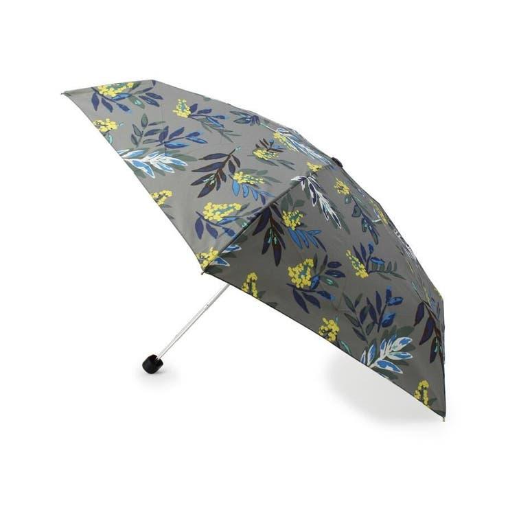 Wpc. 継続はっ水フラワーミニ折り畳み傘(晴雨兼用) | grove | 詳細画像1