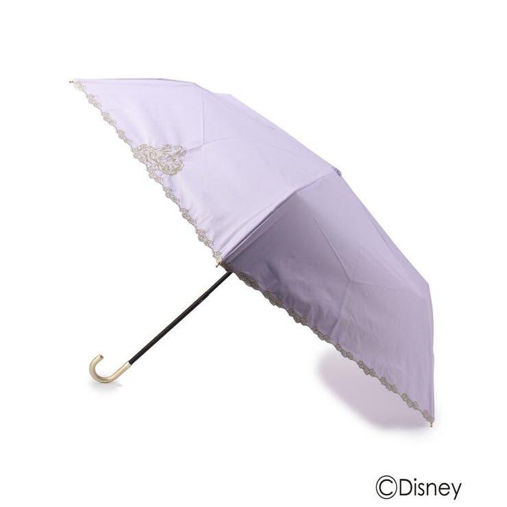 Wpc. 遮光刺しゅう晴雨兼用折り畳み傘(ラプンツェル)   grove   詳細画像1