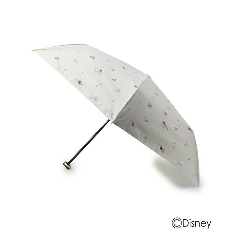 Wpc. 遮光プリント晴雨兼用折り畳み傘(アリエル) | grove | 詳細画像1