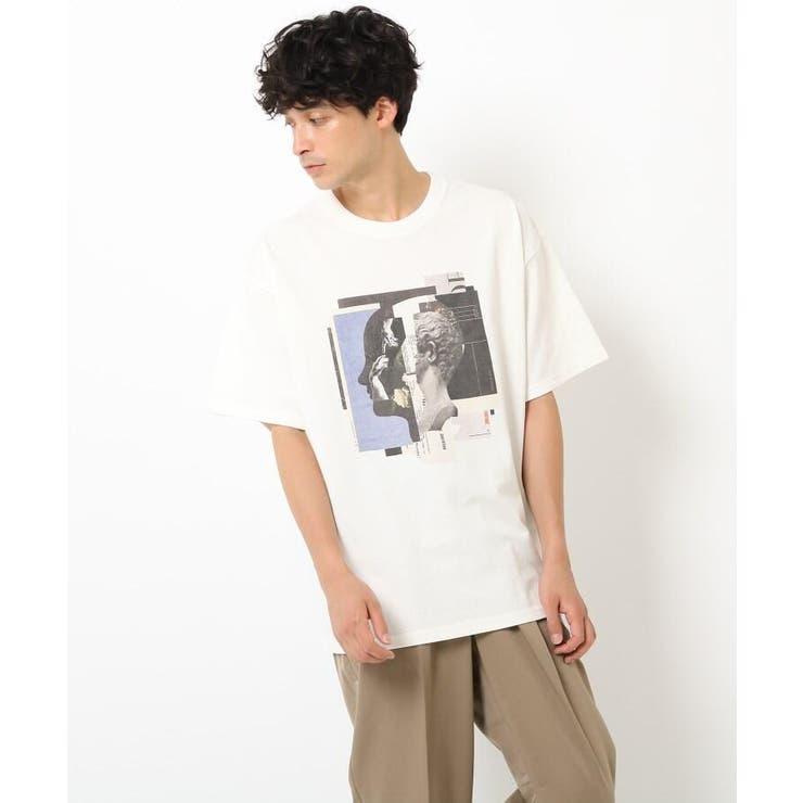 Collage ArtWork Tシャツ | OPAQUE.CLIP | 詳細画像1