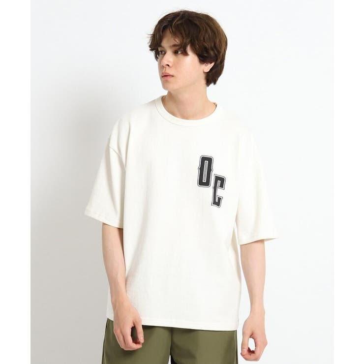 ロゴコットン天竺Tシャツ | Dessin | 詳細画像1