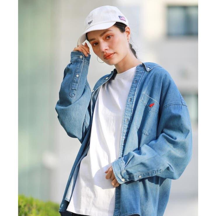 KANGOL カンゴール別注 オーバーサイズシャツ | THE SHOP TK | 詳細画像1
