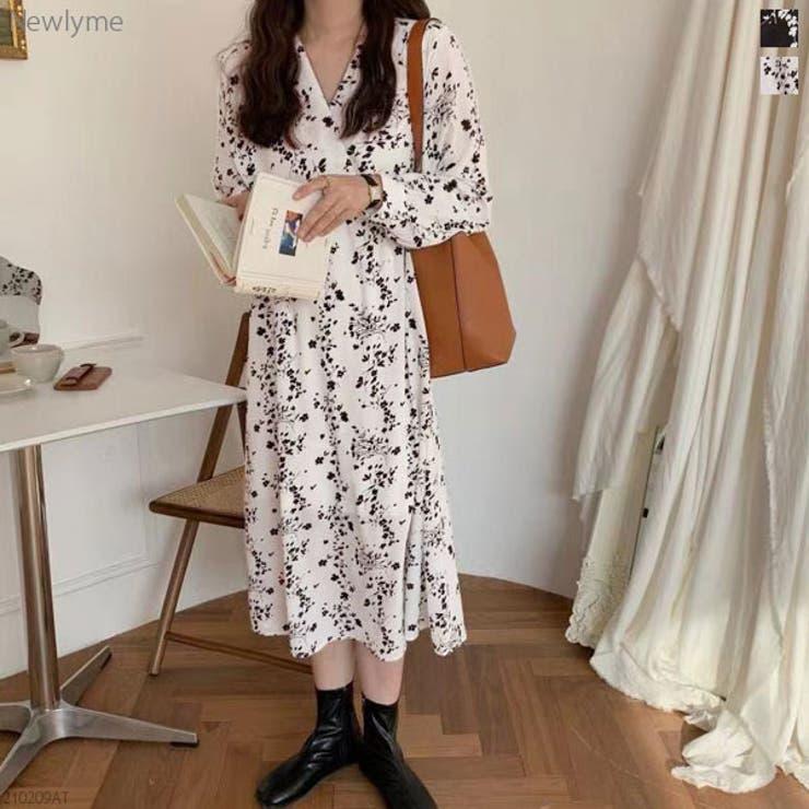 夢展望のワンピース・ドレス/シフォンワンピース   詳細画像