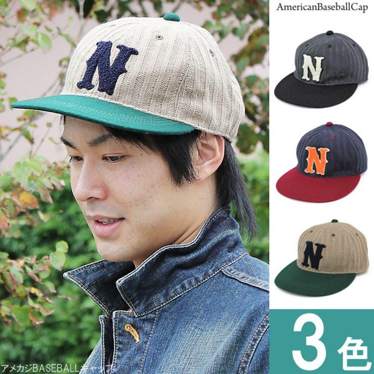 帽子 メンズ キャップ | 帽子屋Zaction -帽子&ヘアバンド-  | 詳細画像1