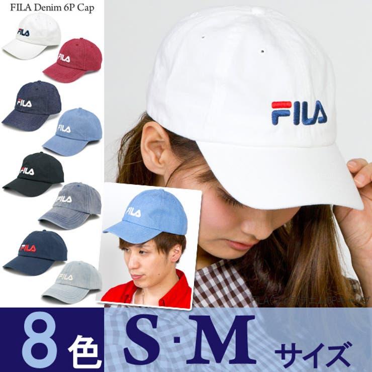 キャップ FILA 帽子   帽子屋Zaction -帽子&ヘアバンド-    詳細画像1