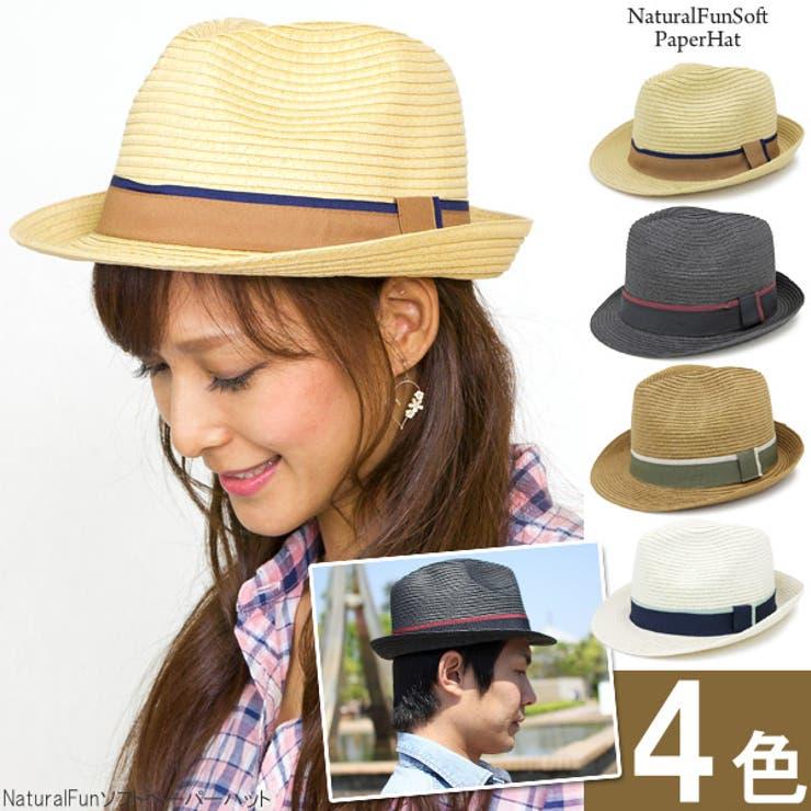ハット 春夏 帽子   帽子屋Zaction -帽子&ヘアバンド-    詳細画像1