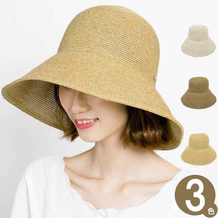 ハット レディース 麦わら帽子 | 帽子屋Zaction -帽子&ヘアバンド-  | 詳細画像1