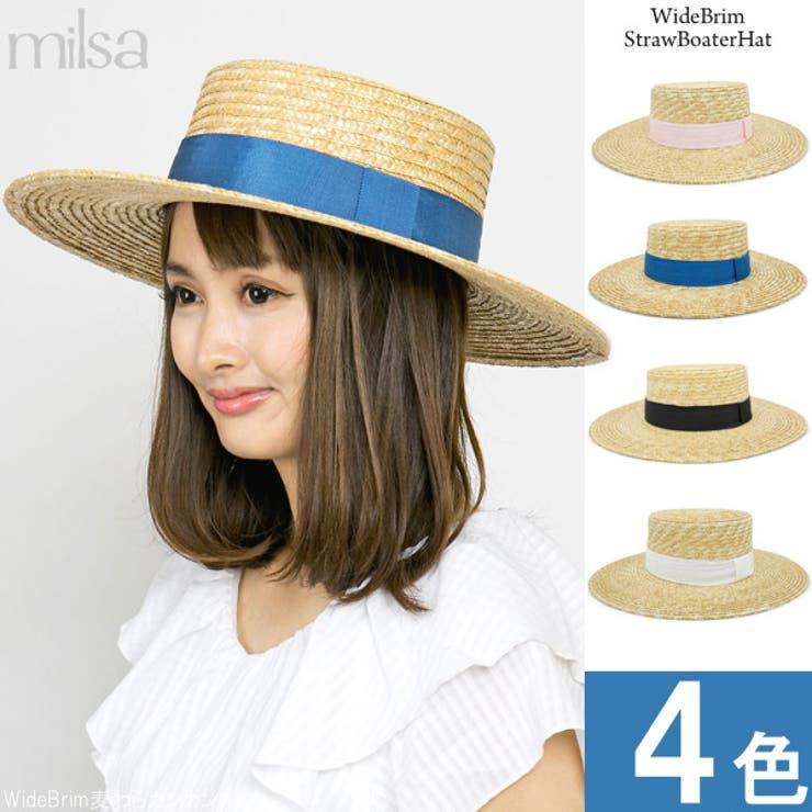 カンカン帽 レディース 帽子 | 帽子屋Zaction -帽子&ヘアバンド-  | 詳細画像1