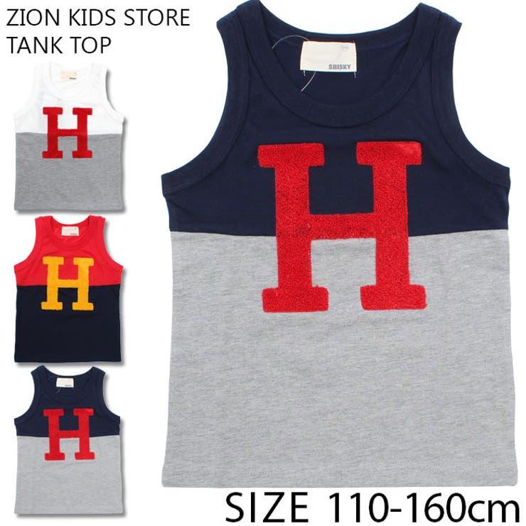 キッズ 子供服 タンクトップ | ZI-ON | 詳細画像1