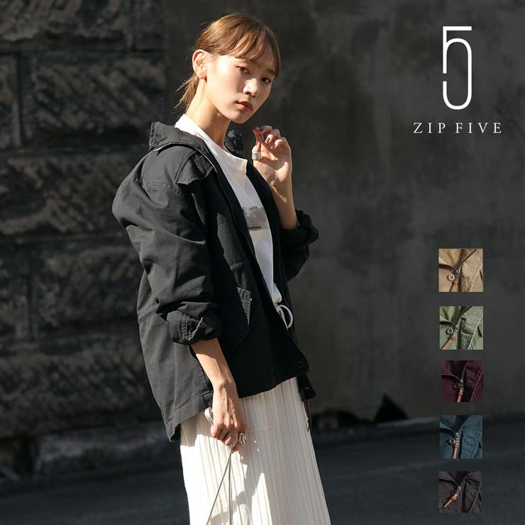ミリタリージャケット メンズ フィールドジャケット | ZIP CLOTHING STORE | 詳細画像1