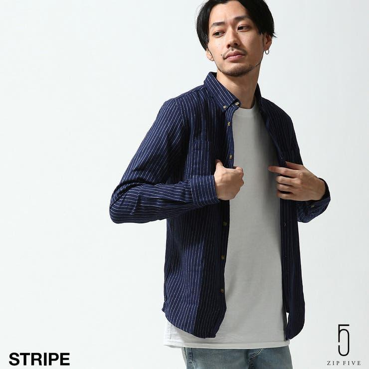 ボタンダウンシャツ メンズ チェックシャツ | ZIP CLOTHING STORE | 詳細画像1