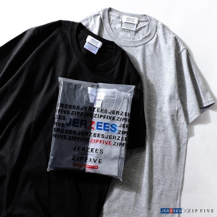 Tシャツ/メンズ/メンズファッション/Tee/ティーシャツ/カットソー/半袖/パックTシャツ/2枚セット/無地/シンプル/JERZEES/ジャージーズ【90-161611】 | 詳細画像