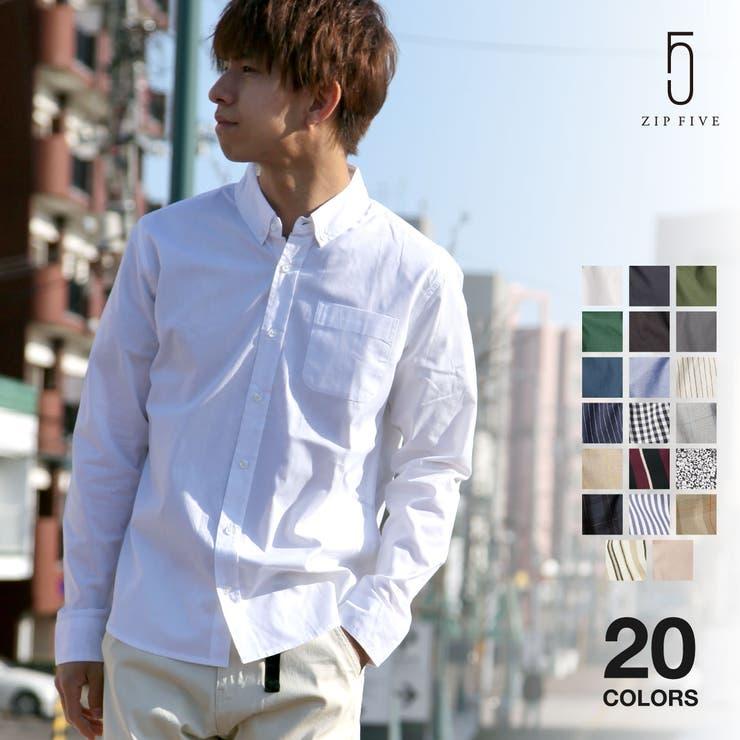 ボタンダウンシャツ メンズ シャツ | ZIP CLOTHING STORE | 詳細画像1