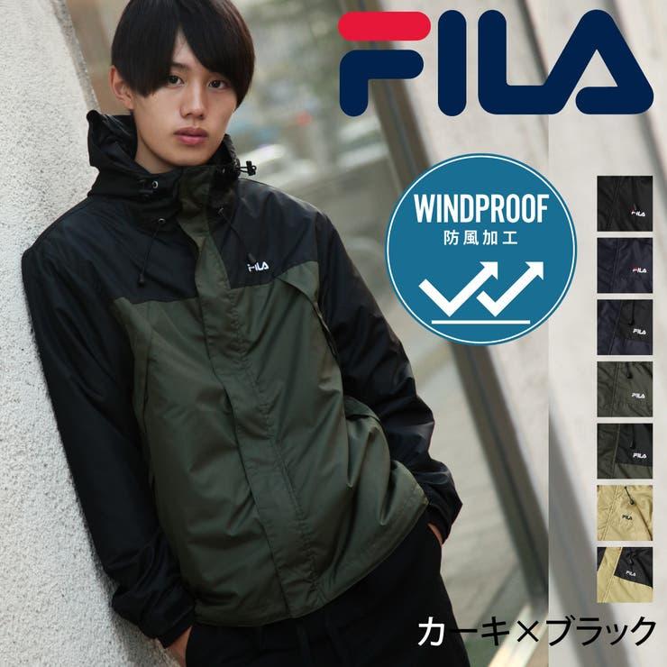 マウンテンパーカー/メンズ/メンズファッション/ジャケット/ブルゾン/アウター/マンパー/防風/ワンポイント/ロゴ刺繍/FILA【fh7630】 | 詳細画像