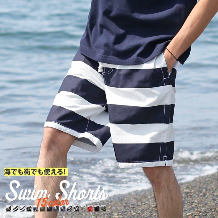 総柄 サーフパンツ メンズ | ZIP CLOTHING STORE | 詳細画像1