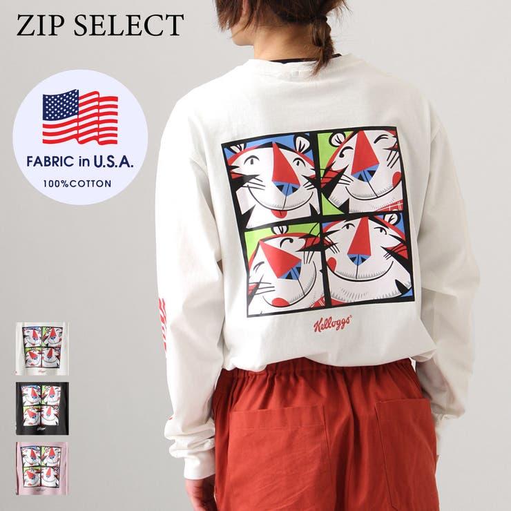 Tシャツ/メンズ/メンズファッション/ロンT/カットソー/長袖Tシャツ/ロゴ/ロゴ刺繍/イラスト/ビッグシルエット【02396301】 | 詳細画像