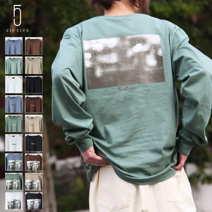 Tシャツ/メンズ/メンズファッション/ロンT/長袖Tシャツ/長袖//ロゴ/アソート/グラフィックアート/ロゴ刺繍/筆記体/カットソー【20030-31gz】   詳細画像