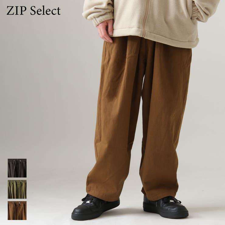 ワイドパンツ メンズ ゆったり   ZIP CLOTHING STORE   詳細画像1