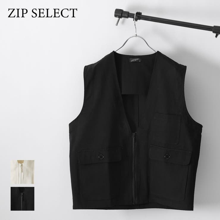 ベスト メンズ ジップベスト | ZIP CLOTHING STORE | 詳細画像1