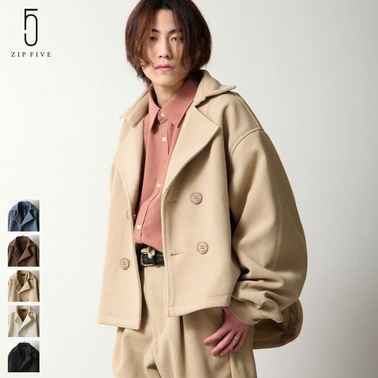 トレンチコート/メンズ/メンズファッション/コート/ショート丈/ウールテック【20037-34sz】 | 詳細画像