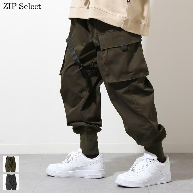 ジョガーパンツ メンズ カーゴパンツ | ZIP CLOTHING STORE | 詳細画像1
