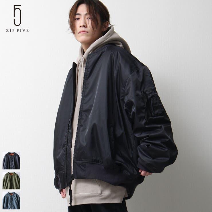 MA-1/メンズ/メンズファッション/ミリタリージャケット/ルーズシルエット【es2002】   詳細画像