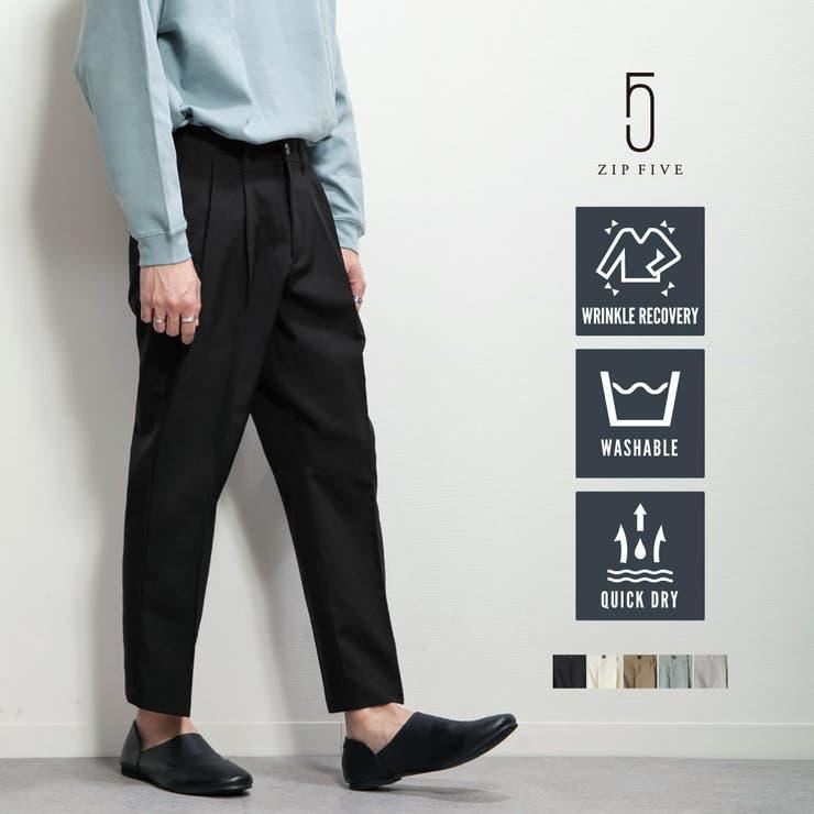 アンクルパンツ メンズ スラックス | ZIP CLOTHING STORE | 詳細画像1