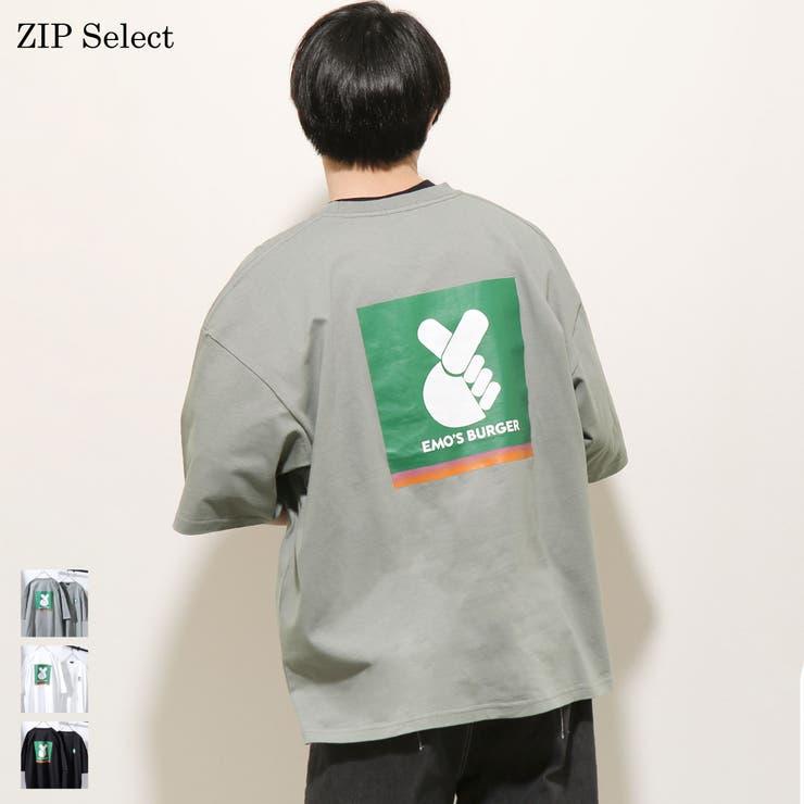 Tシャツ/メンズ/メンズファッション/半袖Tシャツ/半袖/イラストプリント/バックプリント/パロディ/ビッグシルエット/オーバーサイズ【21010-11yz】 | 詳細画像
